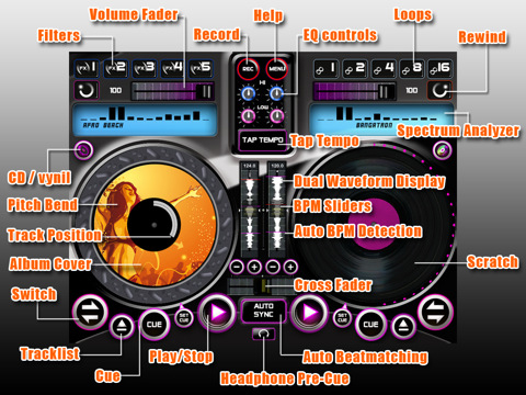 DJ World Studio iPad App Review - Crossfadr | DJ, Production